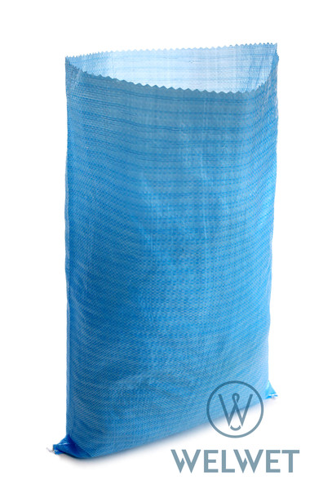 Worek PP 50x80 niebieski